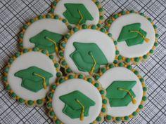Graduation Caps Decorated Cookies  Party by LovinOvenCookies,