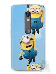 Capa Capinha Moto X Play Minions #2 - SmartCases - Acessórios para celulares e tablets :)