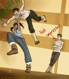 legend of korra funny | The Legend of Korra Bolin Mako