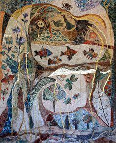 Ilana Shafir  Peaceful Garden 2005  204x252 cm Photo Giora Shafir ©Ilana Shafir