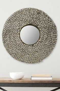 Jeweled Chain Natural Mirror on HauteLook
