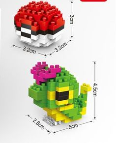 POKEMON MODEL BLOCKS Catirpie! only $4.99 Free shipping on all orders! animemaniacs.me/home