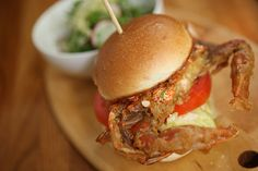 soft-shell crab sandwich. quite possibly my favorite food of all time!