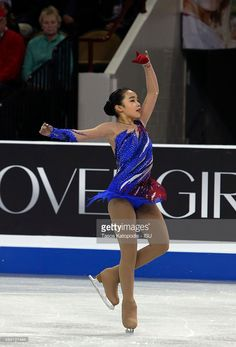 Karen Chen of the U.S. in the ladies free skating during day two of the Progressive Skate America ISU Grand Prix of Figure Skating on October 24, 2015 in Milwaukee, Wisconsin.