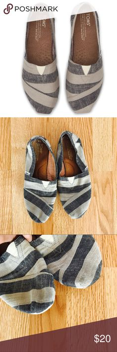 Toms Striped classic No trades. Toms Shoes Flats & Loafers