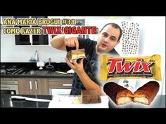 Ana Maria Brogui #38 - Como fazer Twix Gigante!