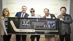 VIDEO: Justin Bieber Presented with a Toronto Maple Leafs Hockey Stick