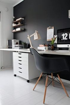 Urban Small Home Office Ideas For Males