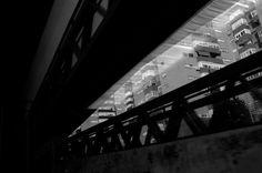 RAMÓN GRAU. Director of Photography: FujiX100 . Llegando a la ciudad . Barcelona 1 de enero 2013 .