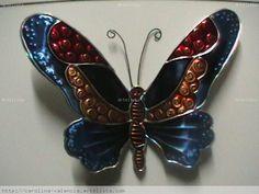 mariposas hechas a mano   Repujado carolina valencia- Artelista.com