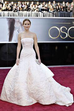 Miss Jennifer Lawrence for the Miss Dior Bag