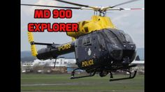 MD 900 Explorer Helicopter Departure - NOTAR: British Police