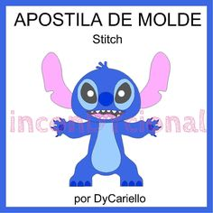 Apostila Digital Molde Stitch | inconDYcional | Elo7