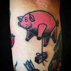 da3fdf6c7 Pink Floyd Tattoos Pink Floyd Art, The Dark Side, Hand Tattoos, Cool Tattoos