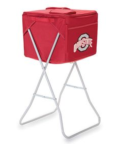 Take a look at this Red Ohio State Party Cube by Picnic Time on #zulily today!
