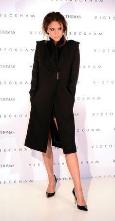 Victoria Beckham in Victoria Beckham Fall 2012 Coat
