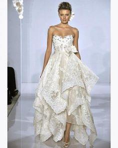Wedding dress. Pnina tornai