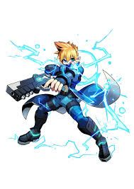 azure striker gunvolt wallpaper - Google Search