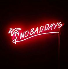 No bad days by lucia | We Heart It