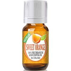 The Sweet Orange Essential Oil is perfect for at-home aromatherapy. This therapeutic oil offers a holistic approach to help with reducing inflammation, calming the senses and relieving body aches. Sweet Orange Essential Oil, Grapefruit Essential Oil, Orange Blossom Honey, Orange Oil, Honey Sugar Scrub, Brown Glass Bottles, Thing 1, Therapeutic Grade Essential Oils, Peeling