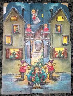 Vintage Advent Tri-Fold Calendar HACO 0141 Printed in Western Germany   eBay
