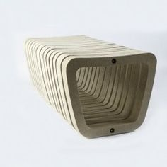 Banc Béton Design Modulcité Banquettes, Beton Design, Soap, Street Furniture, Benches, Booth Seating, Bar Soap, Soaps