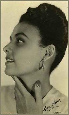 Lena HORNE '40-50 (30 Juin 1917 - 9 Mai 2010)