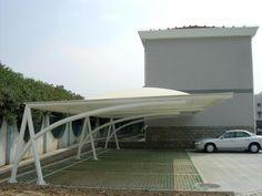 tensile membrane structure for carport ,car parking roof