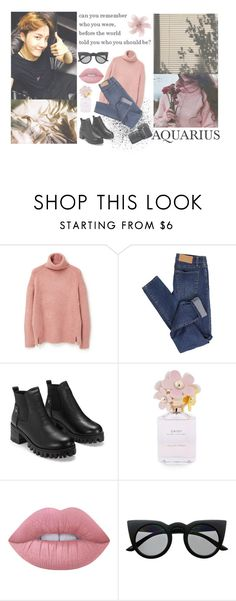 """!!! Day 7 - 6/6 !!!"" by milda-mint ❤ liked on Polyvore featuring MANGO, Cheap Monday, Marc Jacobs, Lime Crime, Retrò and Nikon"