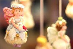 Christmas cupcake angel