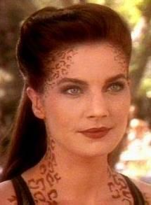 Love Jadzia!       Terry Farrell as Jadzia Dax from Star Trek DS9. (In my opinion the one TRUE Dax)