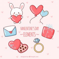 More than a million free vectors, PSD, photos and free icons. Exclusive freebies and all graphic resources that you need for your projects Diy Valentines Cards, Valentine Box, Doodle Drawings, Cartoon Drawings, Sticker Bomb Wallpaper, Valentine Drawing, Valentines Illustration, Unicorn Pictures, Internet Art