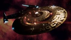 USS Discovery by PainthatImausedto on DeviantArt Star Trek Wallpaper, Uss Discovery, United Federation Of Planets, Concept Ships, Star Trek Ships, Stargate, Character Description, Science Fiction, Sci Fi