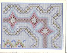 Discover thousands of images about Swedish Swedish Embroidery, Types Of Embroidery, Diy Embroidery, Cross Stitch Embroidery, Embroidery Patterns, Cross Stitch Patterns, Swedish Weaving Patterns, Monks Cloth, Needlepoint Patterns