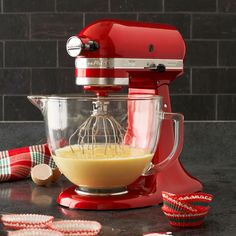 KitchenAid Stand Mixer ~ It's been a staple item in kitchens for decades, and still gorgeous!