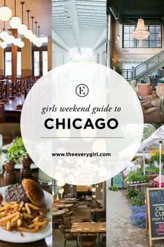 The Everygirl's Weekend City Guide to Chicago, IL #theeverygirl