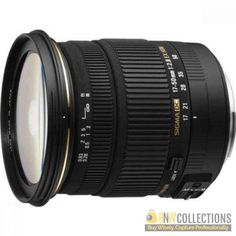 Buy Sigma 17-50mm f/2.8 EX DC OS HSM FLD Zoom Lens At Rs.35,000 Highlights :- Optical Stabilization, fast f/2.8 maximum aperture Cash on Delivery Hassle FREE To Returns Contact # (+92) 03-111-111-269 (BnW) #BnWCollections #Sigma #Zoom #Lens