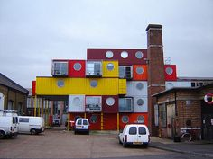Container City, London ...