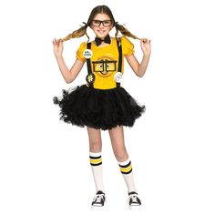 Sony's The Emoji Movie Nerd Child Costume
