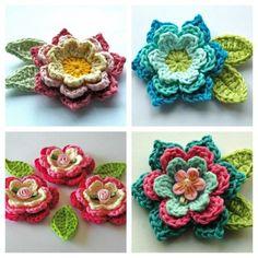 One Skein Crochet Shawl Copper Beech - Free Pattern - Annie Design Crochet One Skein Crochet, Crochet Motifs, Crochet Shawl, Double Crochet, Easy Crochet, Crochet Patterns, Doilies Crochet, Doily Patterns, Learn To Crochet