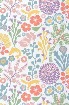 Arietta | Blumen Tapeten | Weitere Tapeten | Tapeten der 70er