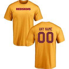 Men Washington Redskins Design-Your-Own Short Sleeve Custom NFL  T-Shirtcheap nfl 020203edd