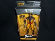 Marvel Legends Wolverine Action Figure X-Men Juggernaut Series No BAF Free Ship #Hasbro