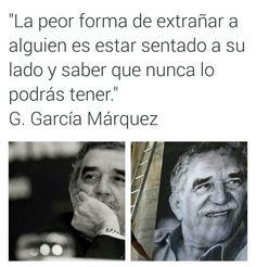 Cerca y lejos... Gabriel García Márquez