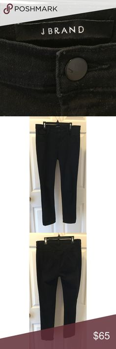 J Brand Black Skinny Leg Jeans These J Brand jeans are made with a really soft material. They are more like straight leg rather than skinny leg, but they're still super cute cuffed! J Brand Jeans Skinny