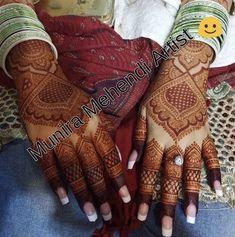 Kashee's Mehndi Designs, Henna Flower Designs, Back Hand Mehndi Designs, Mehndi Design Pictures, Wedding Mehndi Designs, Mehndi Designs For Fingers, Beautiful Henna Designs, Latest Mehndi Designs, Engagement Mehndi Designs