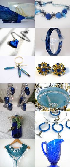 Blue Mystique  by Bettie on Etsy--Pinned with TreasuryPin.com