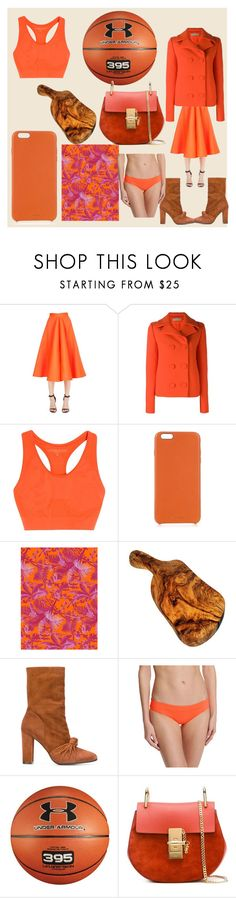"""""""fashion of 395"""" by denisee-denisee ❤ liked on Polyvore featuring Maison Rabih Kayrouz, Emilio Pucci, Lucas Hugh, Chaos, House of Hackney, Jean-Michel Cazabat, Vitamin A, Under Armour, Chloé and vintage"""
