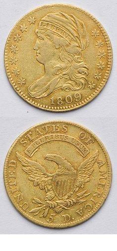 US 5 dollar GOLD COIN