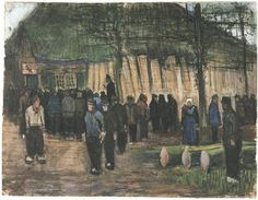 Lumber Sale Vincent van Gogh Watercolor, Charcoal or black chalk, transparent and opaque watercolour, on laid paper Nuenen: December, 1883 Van Gogh Museum Amsterdam, The Netherlands, Europe